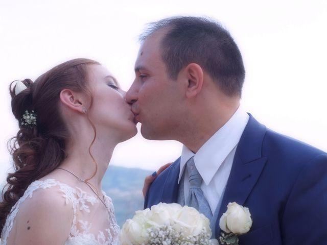 le nozze di Tania e Davide