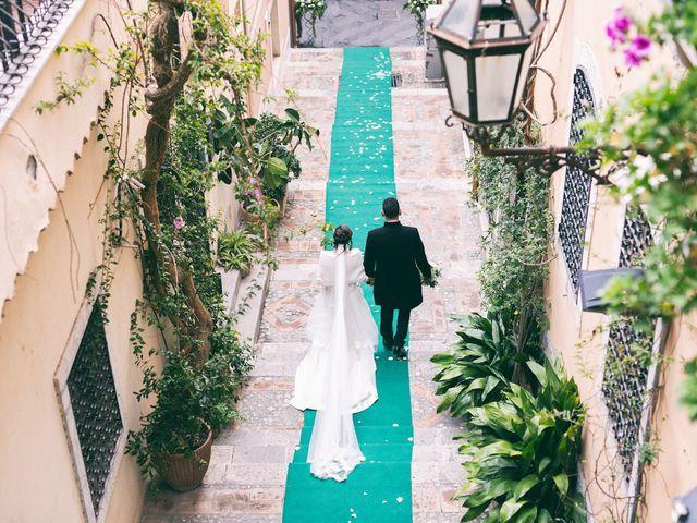 Il matrimonio di Giorgio e Cristina a Taormina, Messina 1