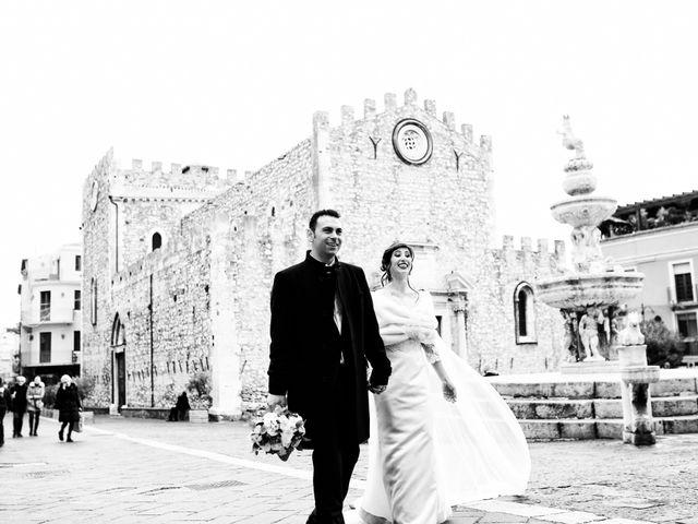 Il matrimonio di Giorgio e Cristina a Taormina, Messina 44
