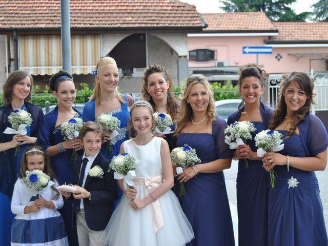 Il matrimonio di Luca e Elena a Barengo, Novara 4