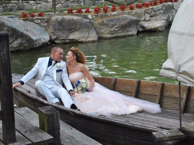 Il matrimonio di Luca e Elena a Barengo, Novara 9
