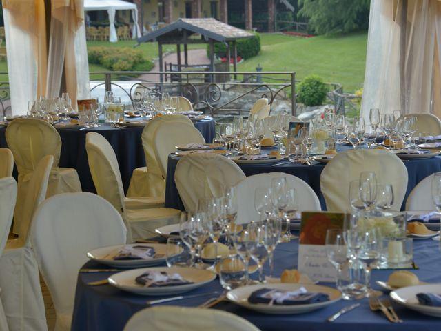Il matrimonio di Luca e Elena a Barengo, Novara 10