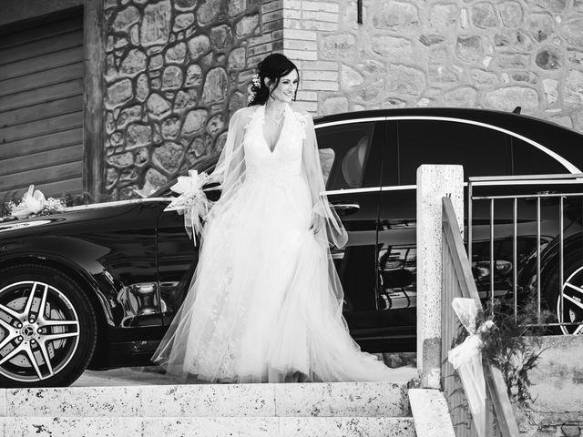 Il matrimonio di Miguel e Marta a Gualdo Cattaneo, Perugia 15