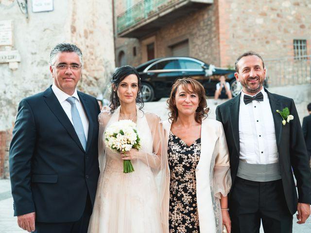 Il matrimonio di Miguel e Marta a Gualdo Cattaneo, Perugia 26