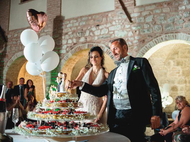 Il matrimonio di Miguel e Marta a Gualdo Cattaneo, Perugia 60
