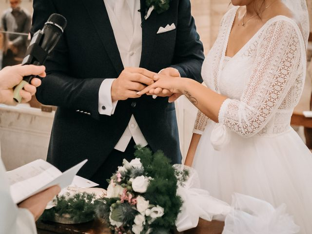 Il matrimonio di Ambra e Lorenzo a San Lorenzo in Campo, Pesaro - Urbino 47