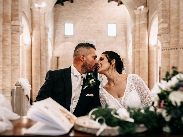 Il matrimonio di Ambra e Lorenzo a San Lorenzo in Campo, Pesaro - Urbino 49