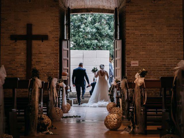 Il matrimonio di Ambra e Lorenzo a San Lorenzo in Campo, Pesaro - Urbino 53