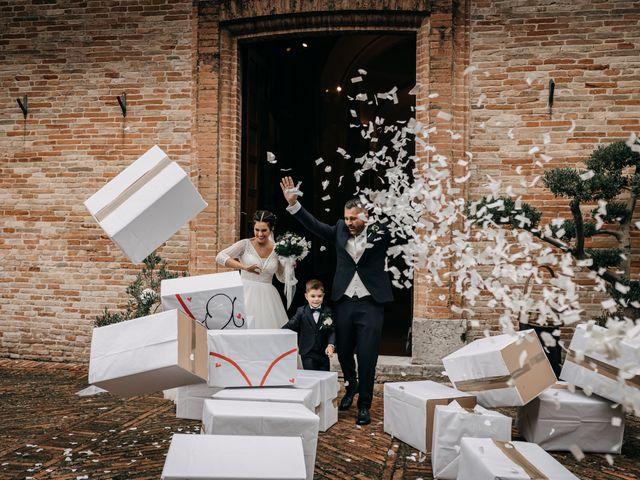 Il matrimonio di Ambra e Lorenzo a San Lorenzo in Campo, Pesaro - Urbino 54