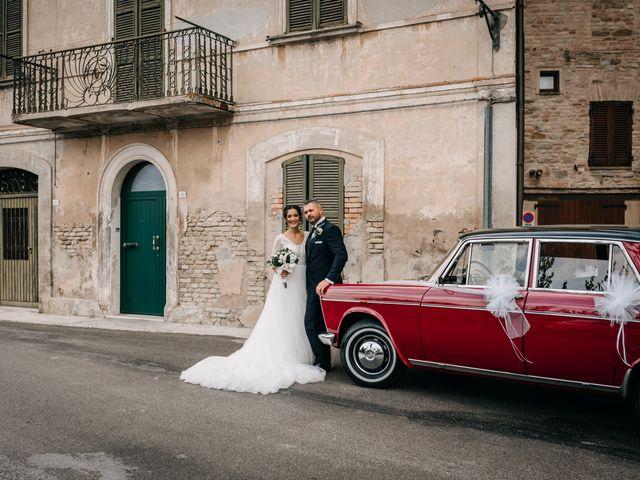 Il matrimonio di Ambra e Lorenzo a San Lorenzo in Campo, Pesaro - Urbino 56