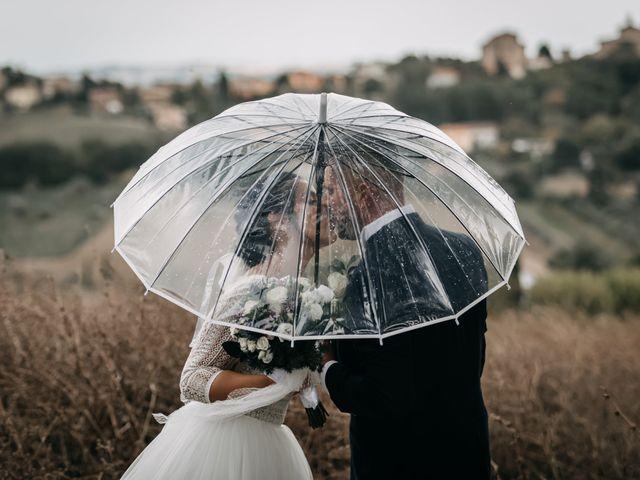 Il matrimonio di Ambra e Lorenzo a San Lorenzo in Campo, Pesaro - Urbino 61