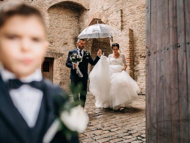 Il matrimonio di Ambra e Lorenzo a San Lorenzo in Campo, Pesaro - Urbino 63