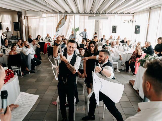 Il matrimonio di Ambra e Lorenzo a San Lorenzo in Campo, Pesaro - Urbino 73