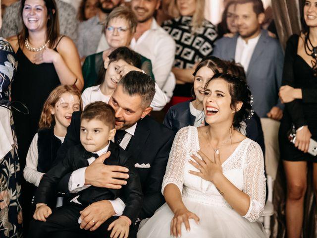 Il matrimonio di Ambra e Lorenzo a San Lorenzo in Campo, Pesaro - Urbino 81