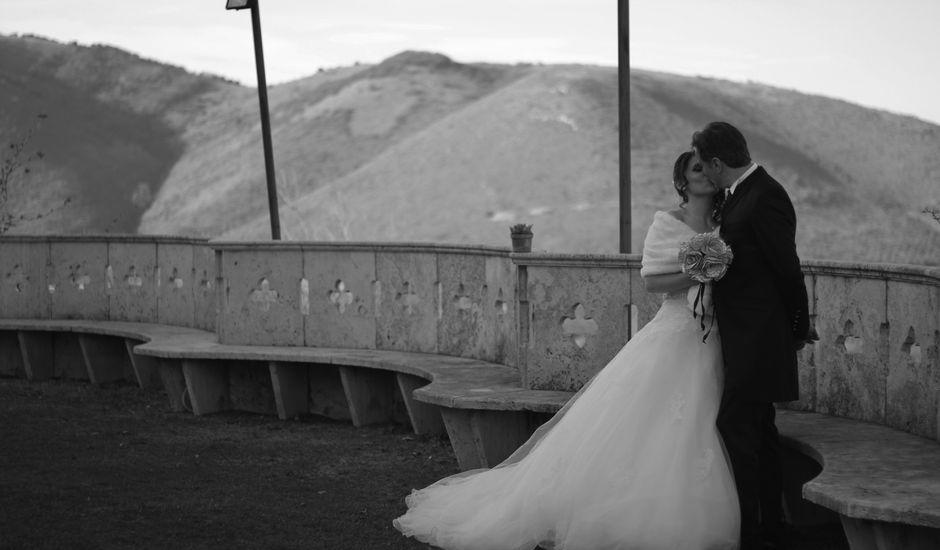 Il matrimonio di Vince e Francesca a Nerola, Roma