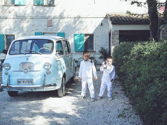 Il matrimonio di Fabiano e Marcela a Barchi, Pesaro - Urbino 56