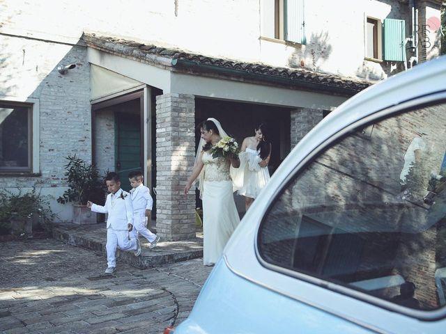Il matrimonio di Fabiano e Marcela a Barchi, Pesaro - Urbino 60