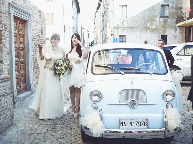 Il matrimonio di Fabiano e Marcela a Barchi, Pesaro - Urbino 70