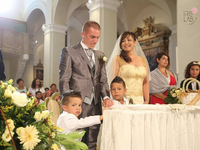 Il matrimonio di Fabiano e Marcela a Barchi, Pesaro - Urbino 74