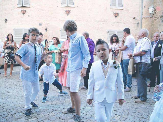 Il matrimonio di Fabiano e Marcela a Barchi, Pesaro - Urbino 83