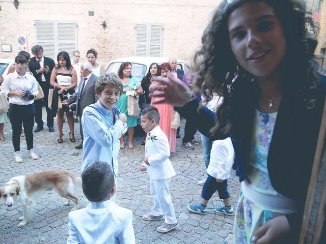 Il matrimonio di Fabiano e Marcela a Barchi, Pesaro - Urbino 86