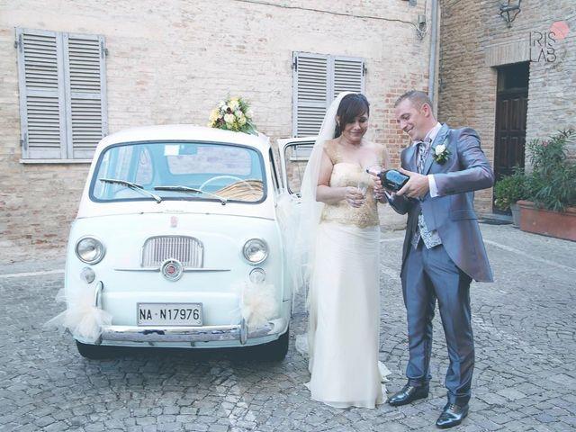 Il matrimonio di Fabiano e Marcela a Barchi, Pesaro - Urbino 93