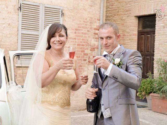 Il matrimonio di Fabiano e Marcela a Barchi, Pesaro - Urbino 94