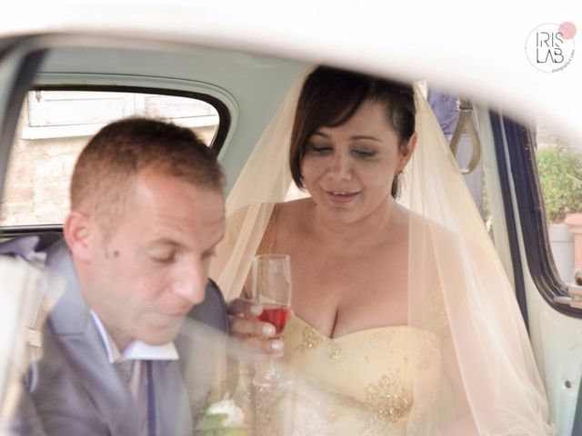 Il matrimonio di Fabiano e Marcela a Barchi, Pesaro - Urbino 96