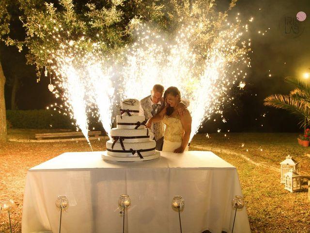 Il matrimonio di Fabiano e Marcela a Barchi, Pesaro - Urbino 127
