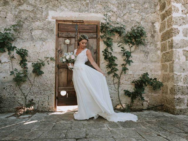 Il matrimonio di Nicola e Maeva a Casarano, Lecce 25