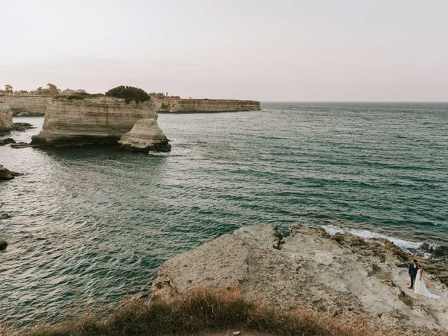 Il matrimonio di Nicola e Maeva a Casarano, Lecce 79