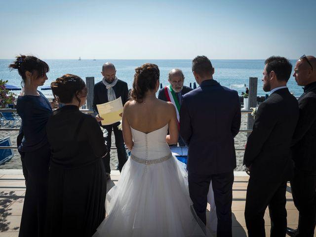 Il matrimonio di Luca e Rossella a Celle Ligure, Savona 28