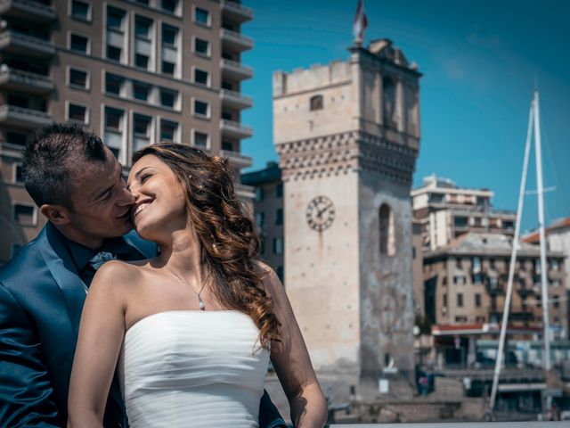 Il matrimonio di Luca e Rossella a Celle Ligure, Savona 37