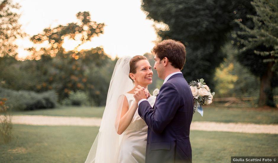 Il matrimonio di Matteo e Greta a Pavia, Pavia