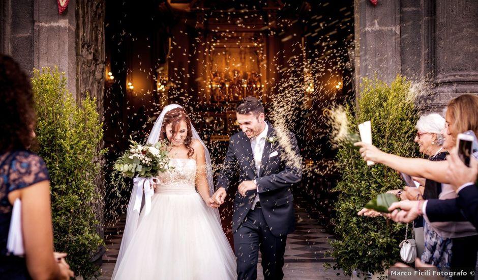 Il matrimonio di Federico e Cecilia a Trecastagni, Catania