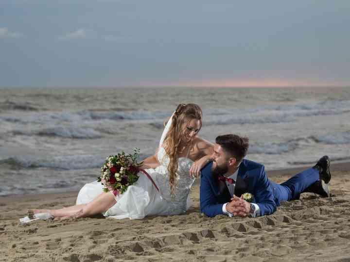 le nozze di Federica e Saverio