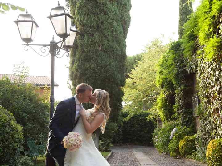 le nozze di Giuliana e Daniel