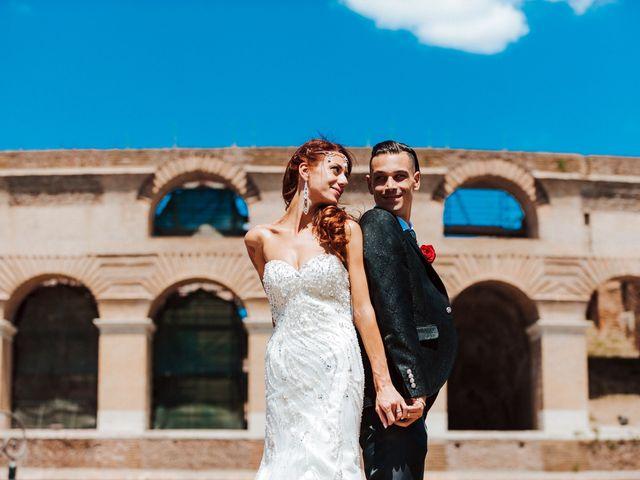 Il matrimonio di Luca e Dalila a Roma, Roma 24
