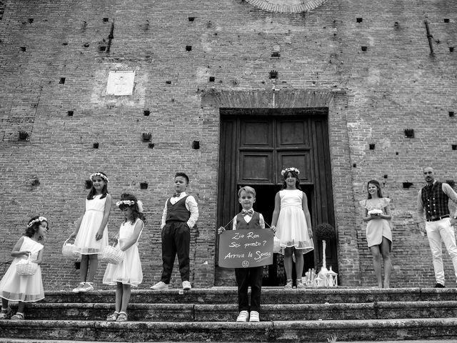Il matrimonio di Renato e Elisa a Siena, Siena 12