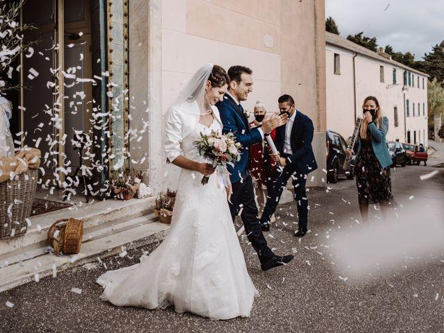Il matrimonio di Federico e Simona a Arenzano, Genova 36