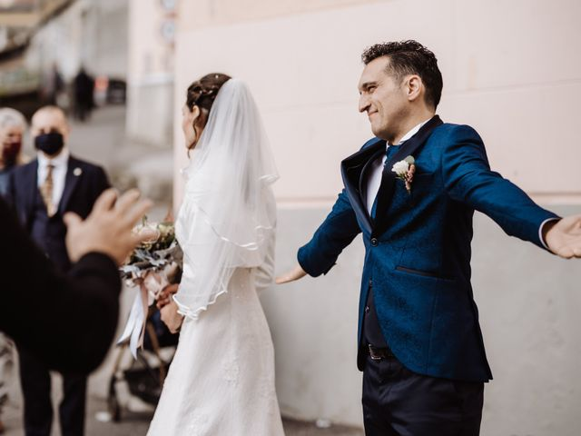 Il matrimonio di Federico e Simona a Arenzano, Genova 37