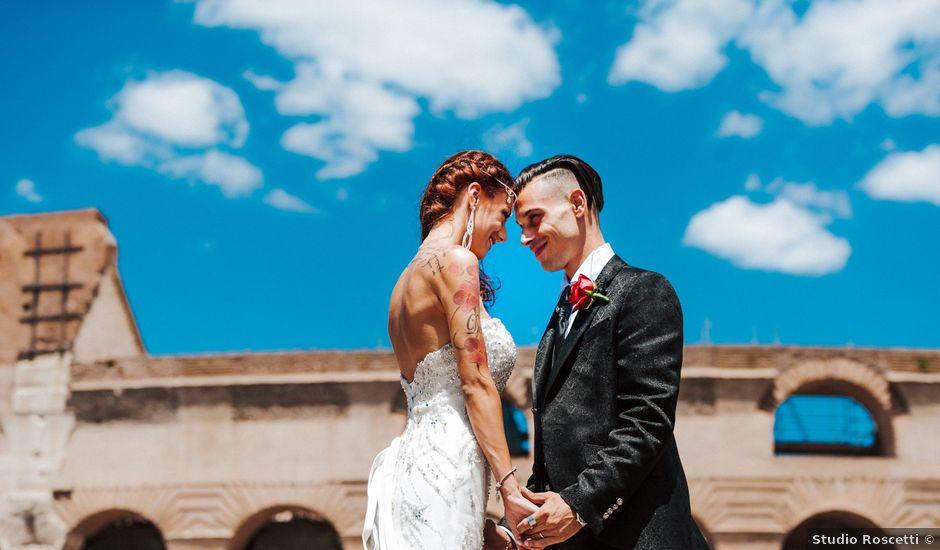 Il matrimonio di Luca e Dalila a Roma, Roma