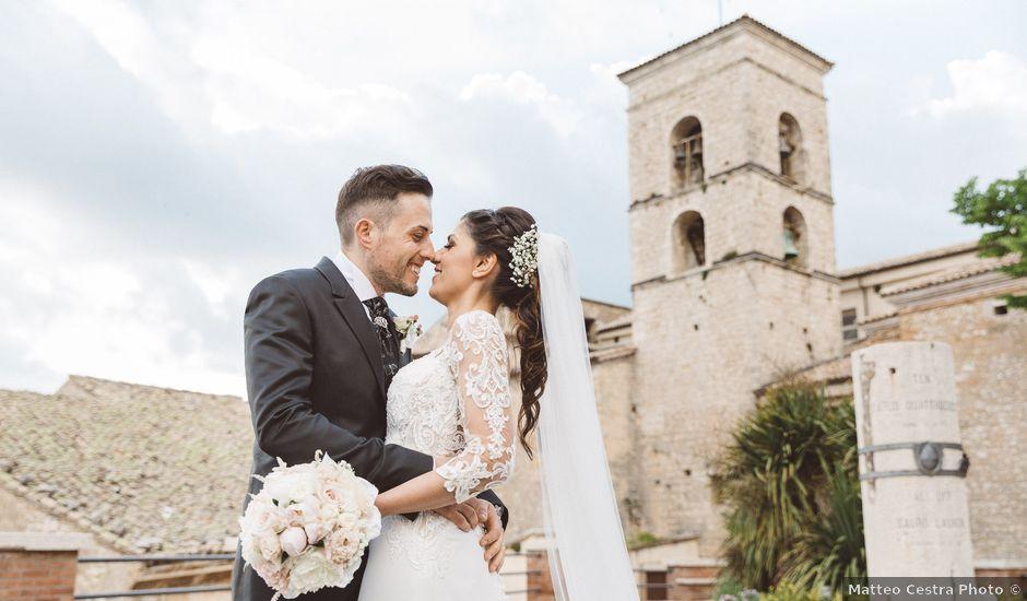 Il matrimonio di Matteo e Martina a Veroli, Frosinone
