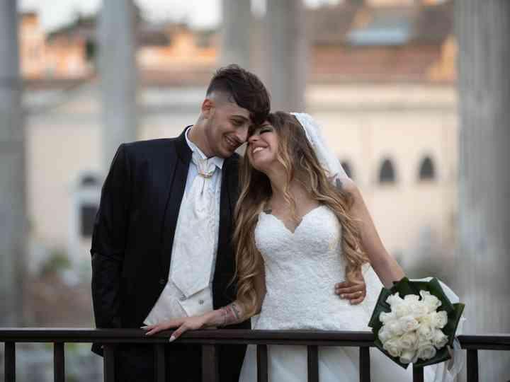 le nozze di Anna Maria e Christian