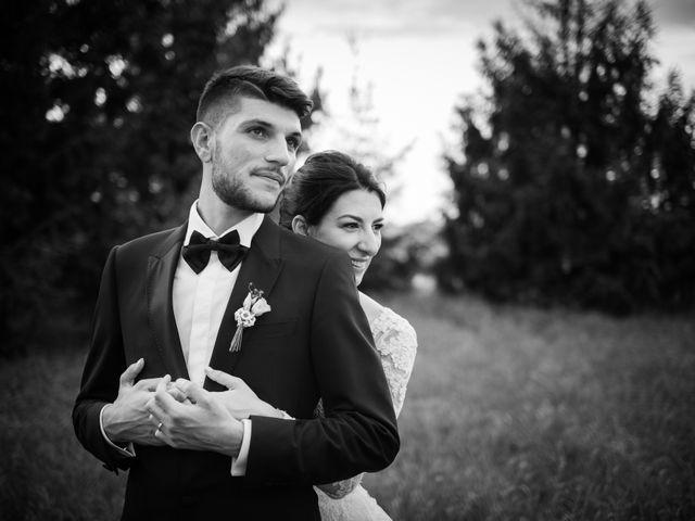 le nozze di Tatiana e Michele