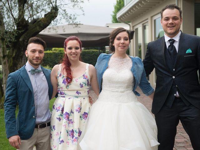 Il matrimonio di Simone e Rebecca a Corzano, Brescia 8