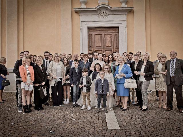 Il matrimonio di Simone e Rebecca a Corzano, Brescia 65