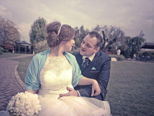 Il matrimonio di Simone e Rebecca a Corzano, Brescia 93