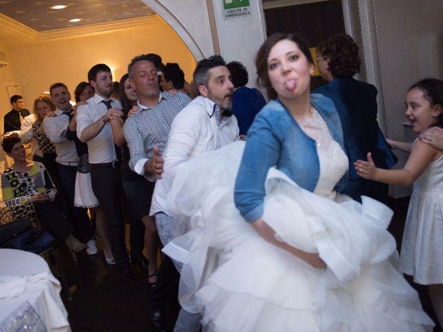 Il matrimonio di Simone e Rebecca a Corzano, Brescia 112