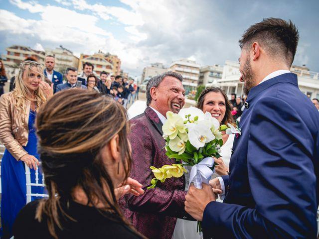 Il matrimonio di Matteo e Giada a Gabicce Mare, Pesaro - Urbino 42